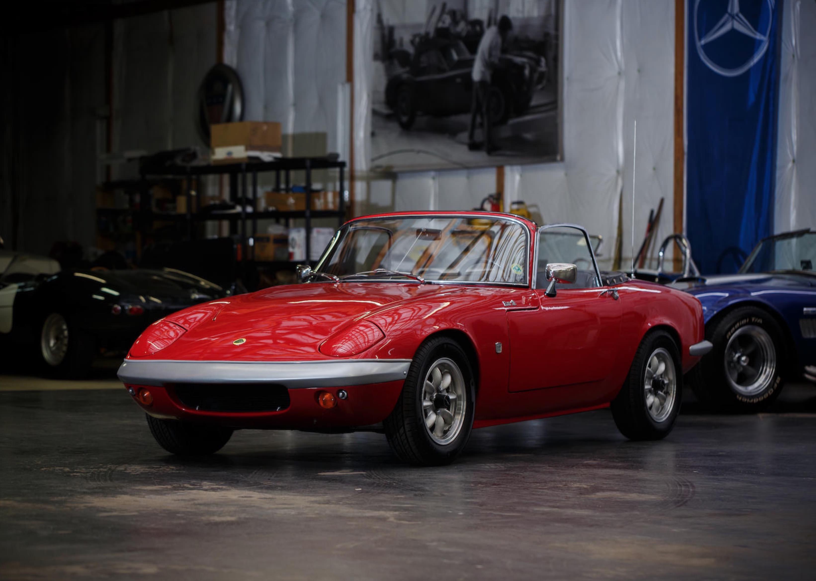 The 1966 Lotus Elan Twin Cam British Roadster Royalty