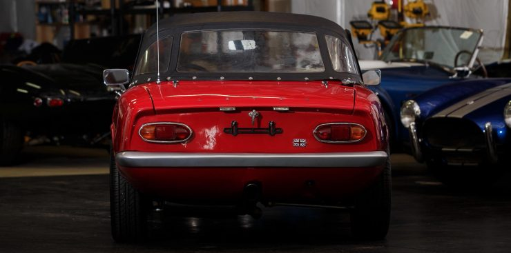 Lotus Elan Back