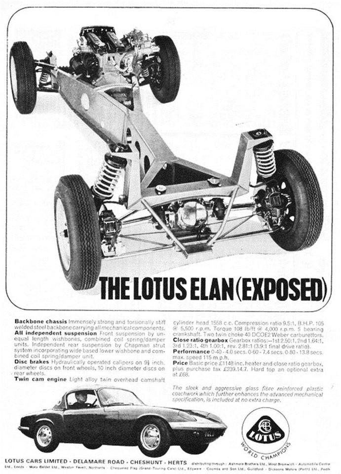 Lotus Elan Chassis