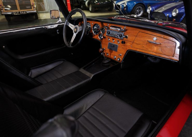 Lotus Elan Interior