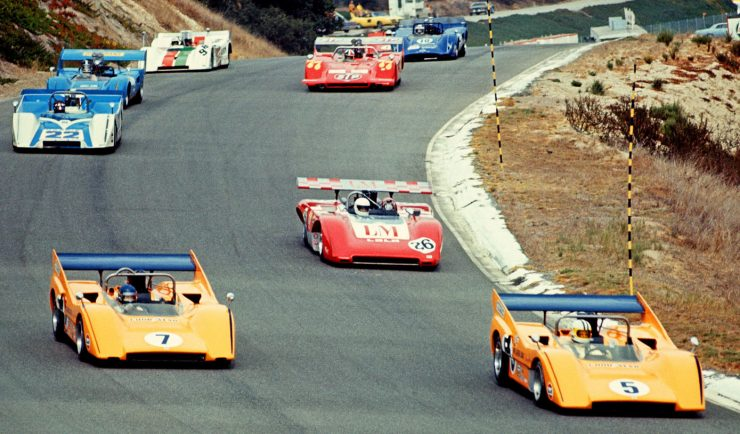 McLaren Can Am Car M8D 740x434 - 1970 Can Am Documentary: The Heavies