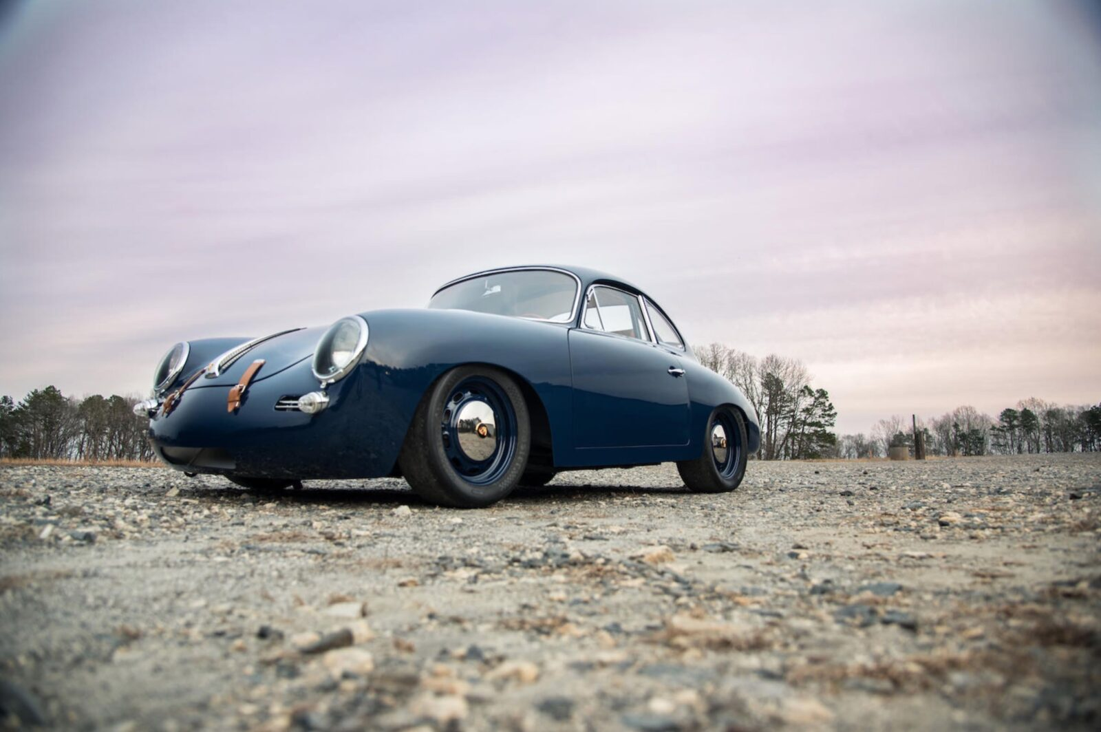 A 1964 Porsche 356 Outlaw with a 236 HP 2 8 Liter Flat-6