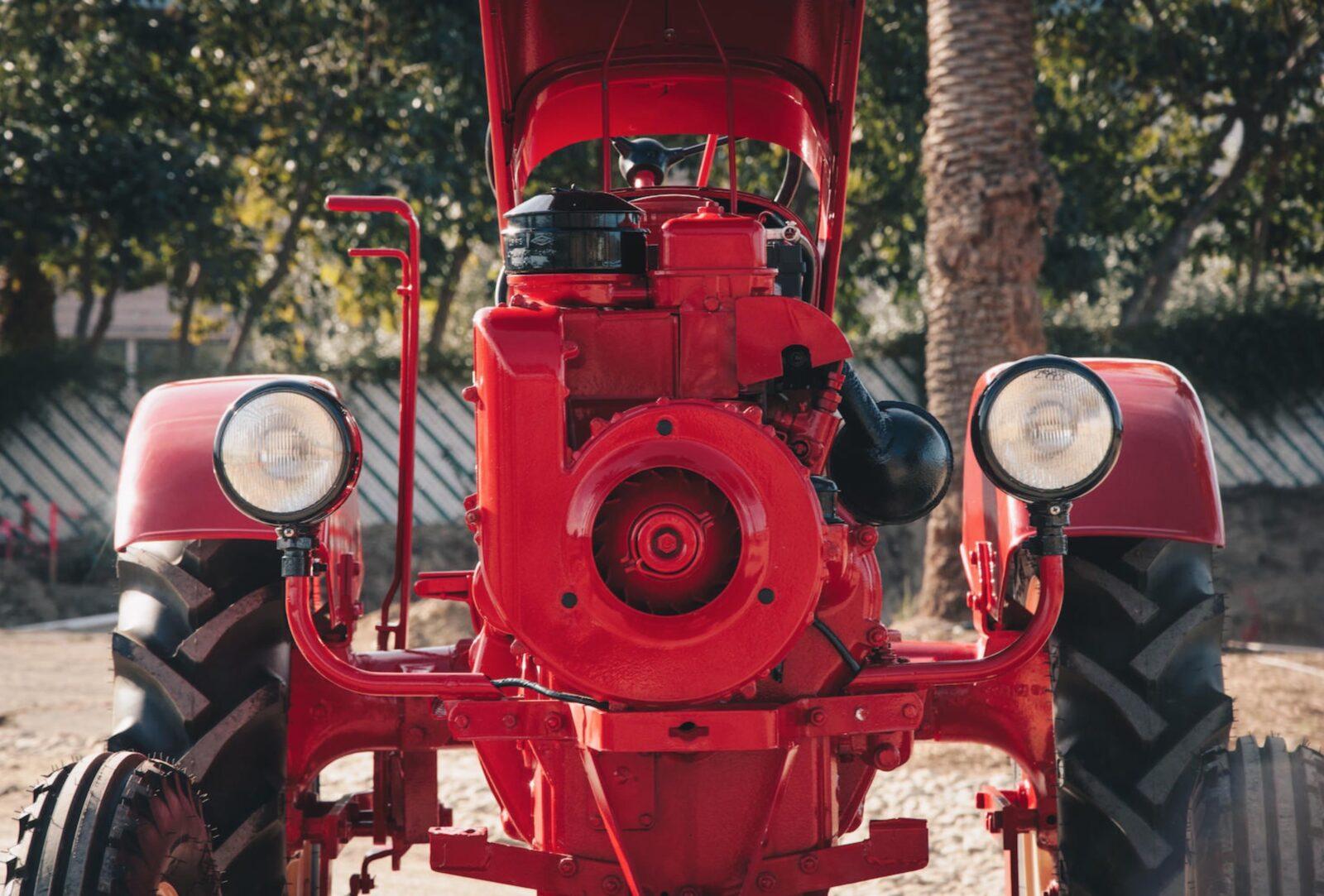 Porsche Tractor 6 1600x1083 - Porsche Tractor - A Rare 1961 Porsche Junior 108