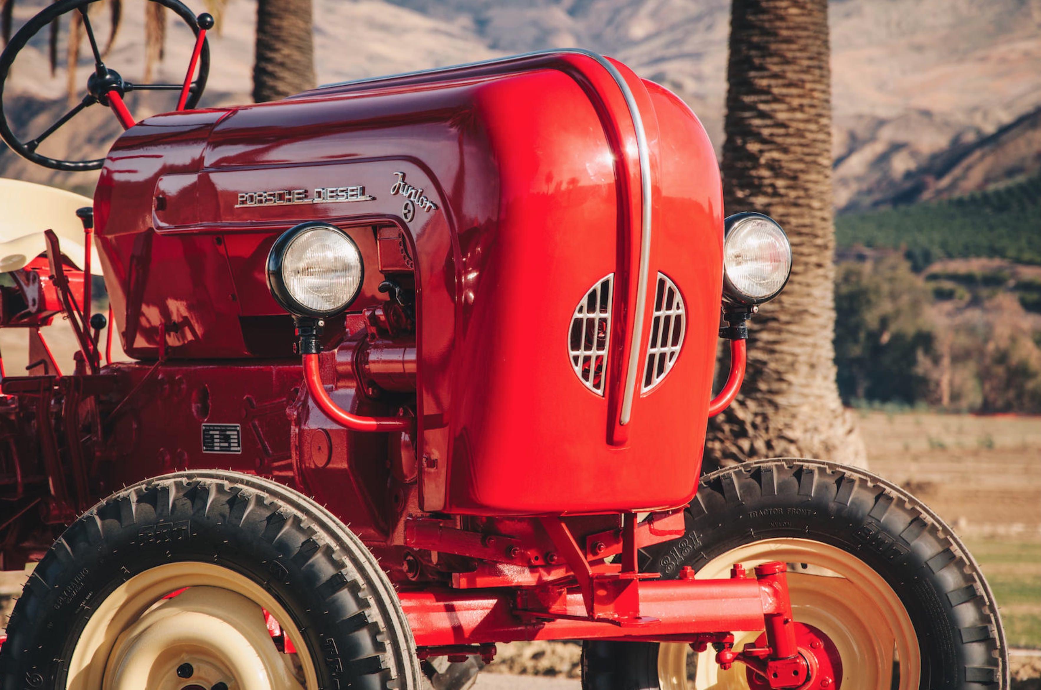 Porsche Tractor - A Rare, Restored 1961 Porsche Junior 108