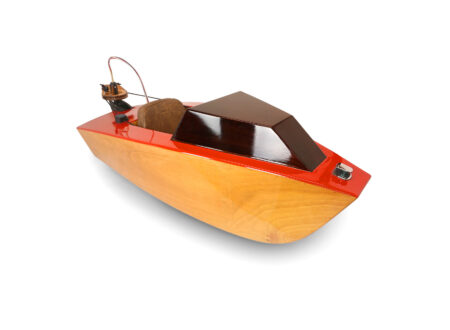 Rapid Whale Mini Boat 450x330 - Rapid Whale Mini Boat - An Electrically Powered Kit-Built Mini Boat