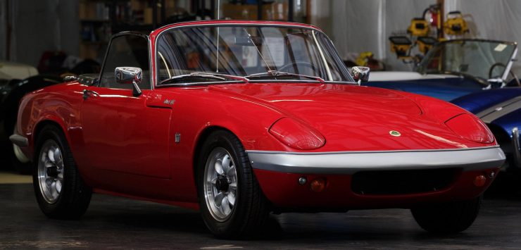 Lotus Elan Front Closeup
