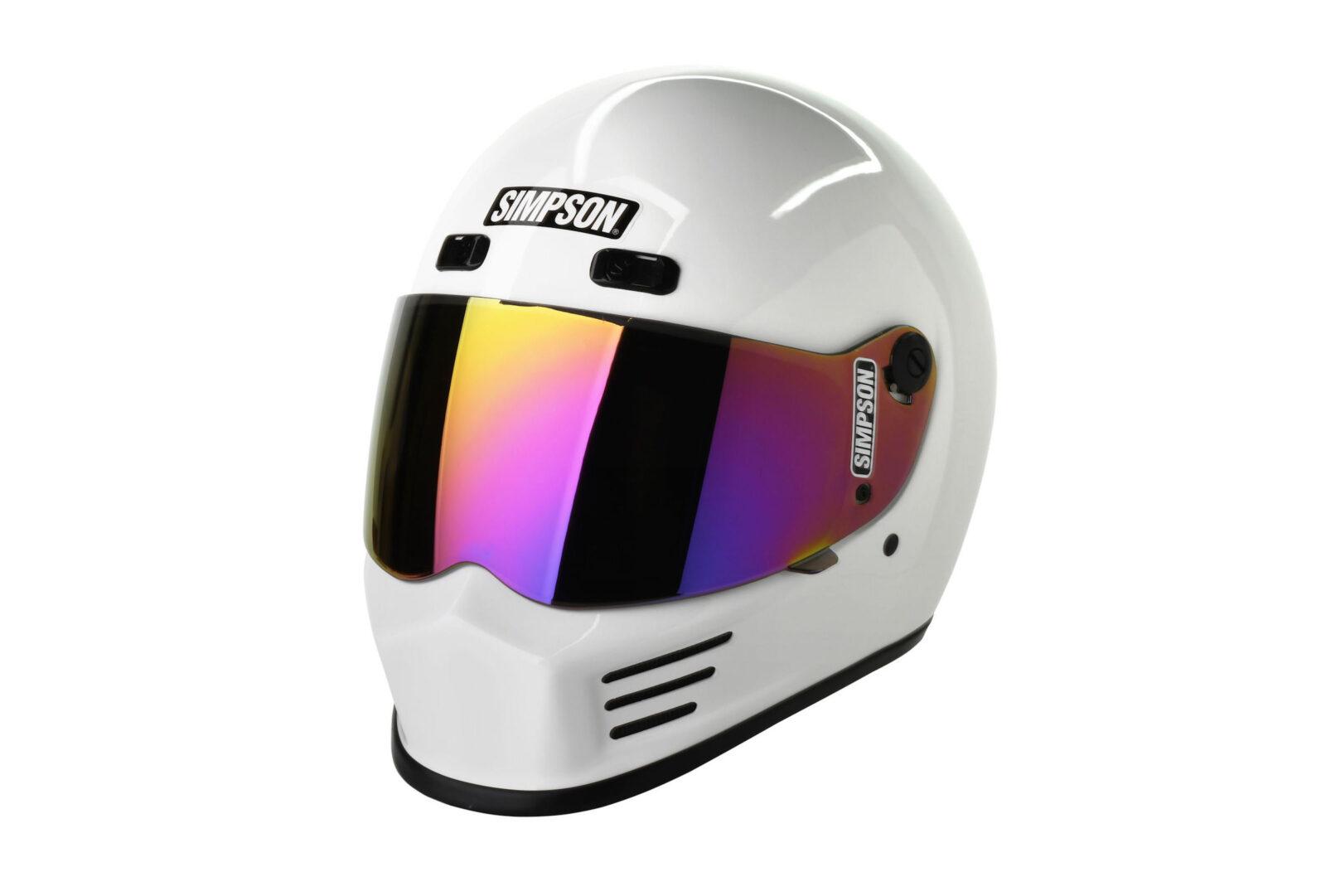 Simpson Street Bandit Helmet 1600x1081 - The Snell M2015 Certified Simpson Street Bandit Helmet