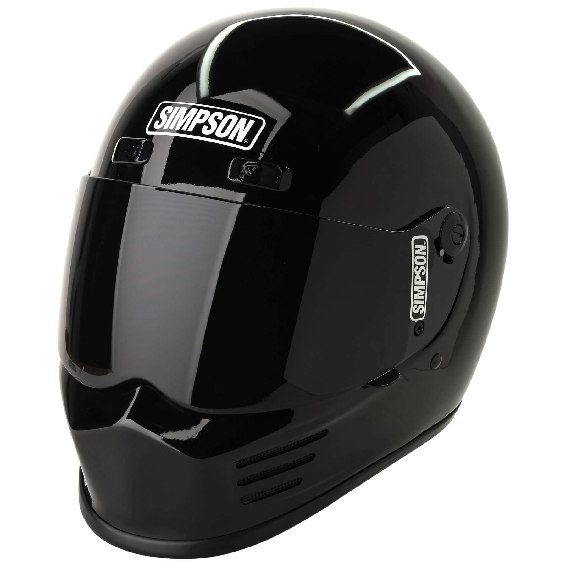 The Snell M2015 Certified Simpson Street Bandit Helmet