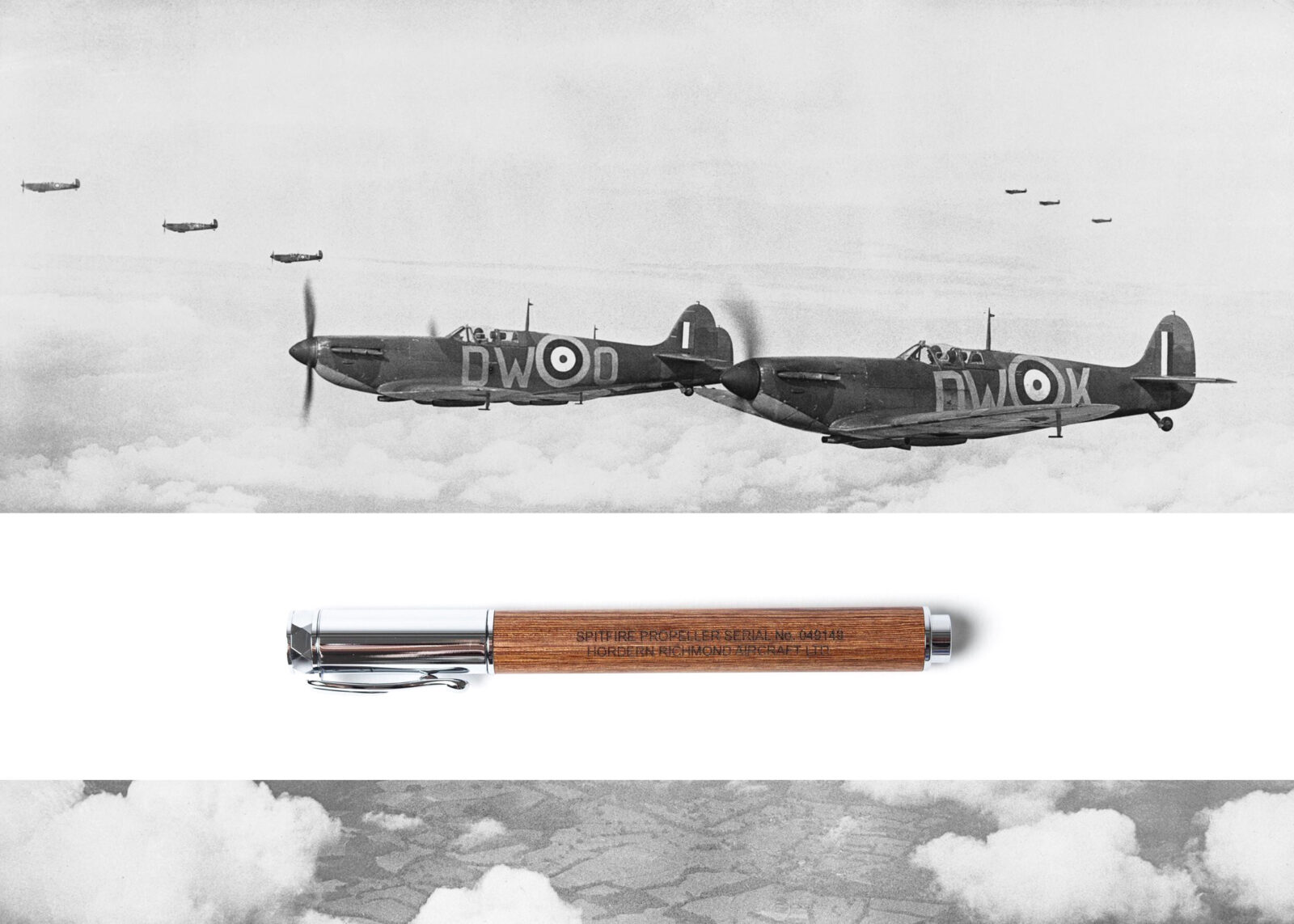 Spitfire Pen 1600x1143 - Spitfire Pen - Made From An Original Spitfire Propeller