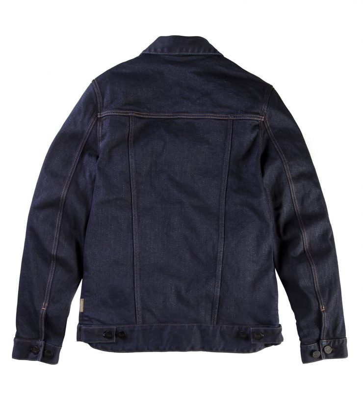 Suus Road Denim 450 Motorcycle Jacket Back