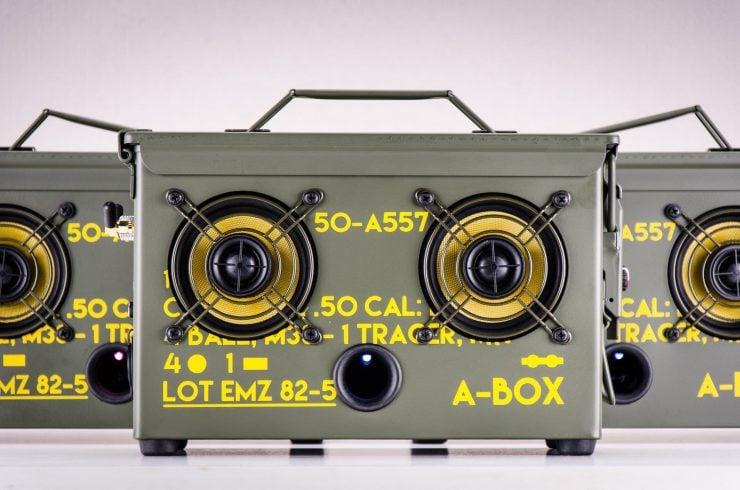 Thodio .50 Cal A-Box Front