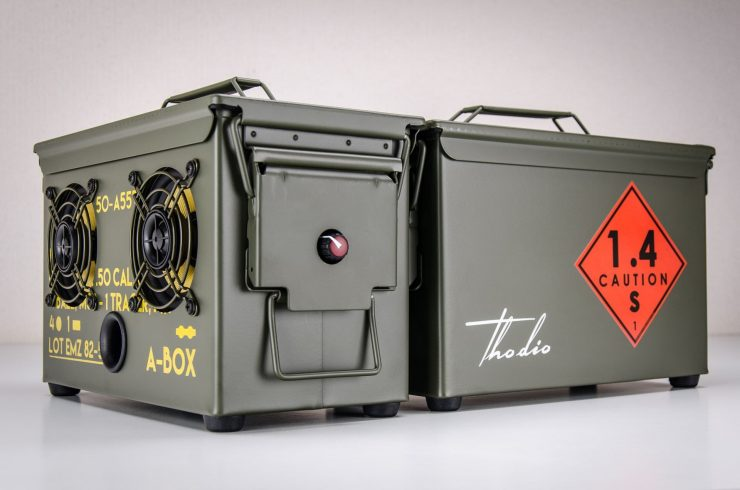 The .50 Cal A-Box - The Original Ammo Can Boombox Main
