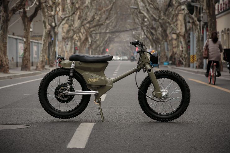 eCub - A Retro Electric Motorcycle