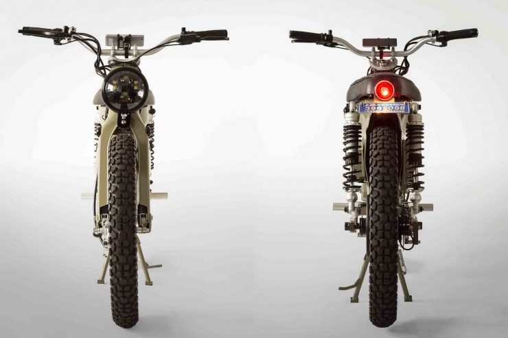 eCub 2 - A Retro Electric Motorcycle