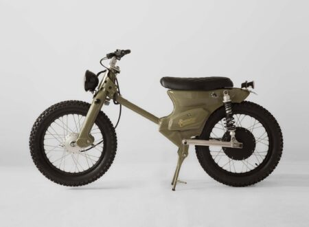 The eCub A Retro Electric Motorcycle by Shanghai Customs 450x330 - The eCub 2 - A Retro Electric Motorcycle by Shanghai Customs