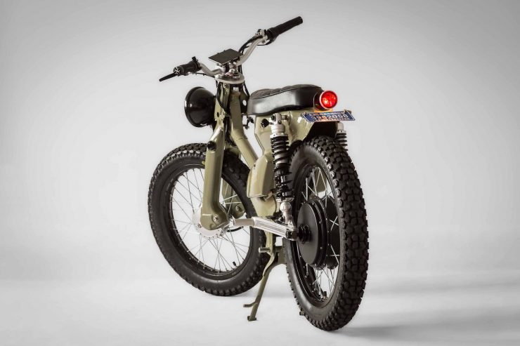 Lightest Road Bike >> The eCub 2 - A Retro Electric Motorcycle by Shanghai Customs