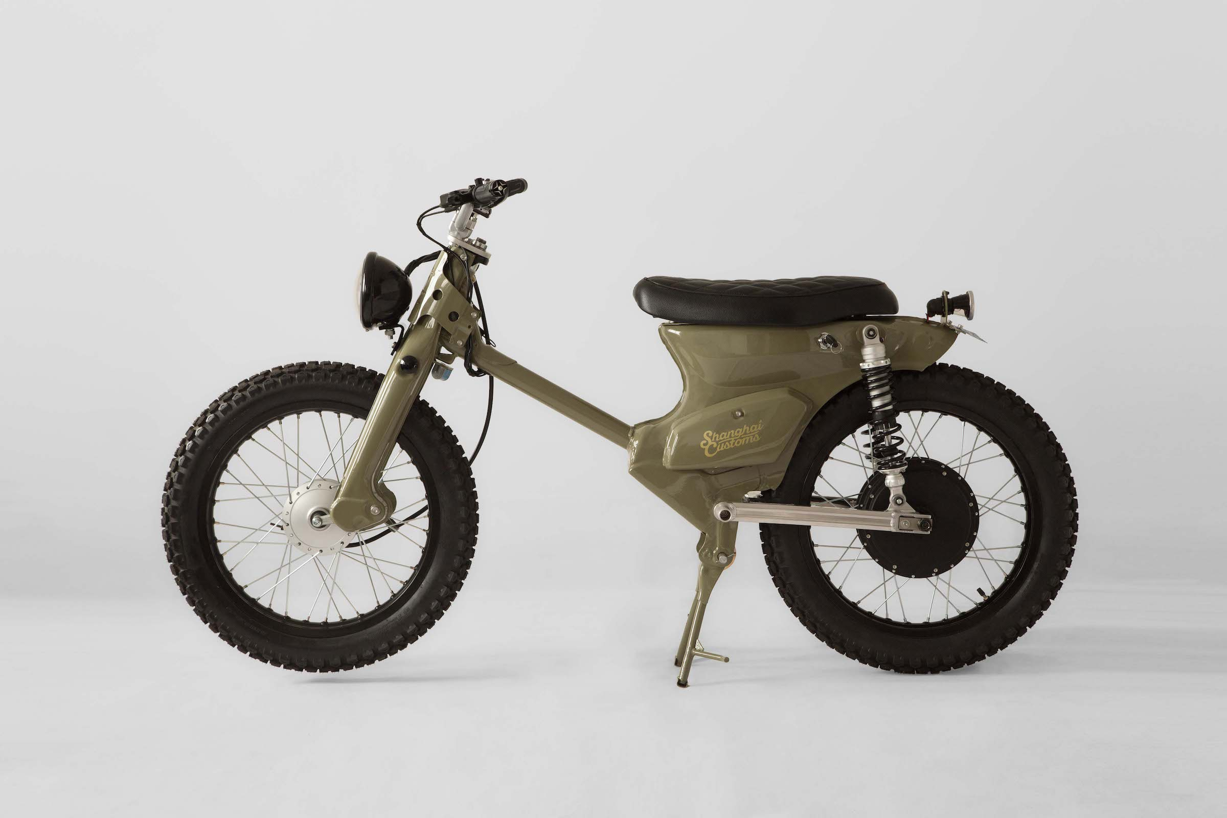 The Ecub 2 A Retro Electric Motorcycle By Shanghai Customs