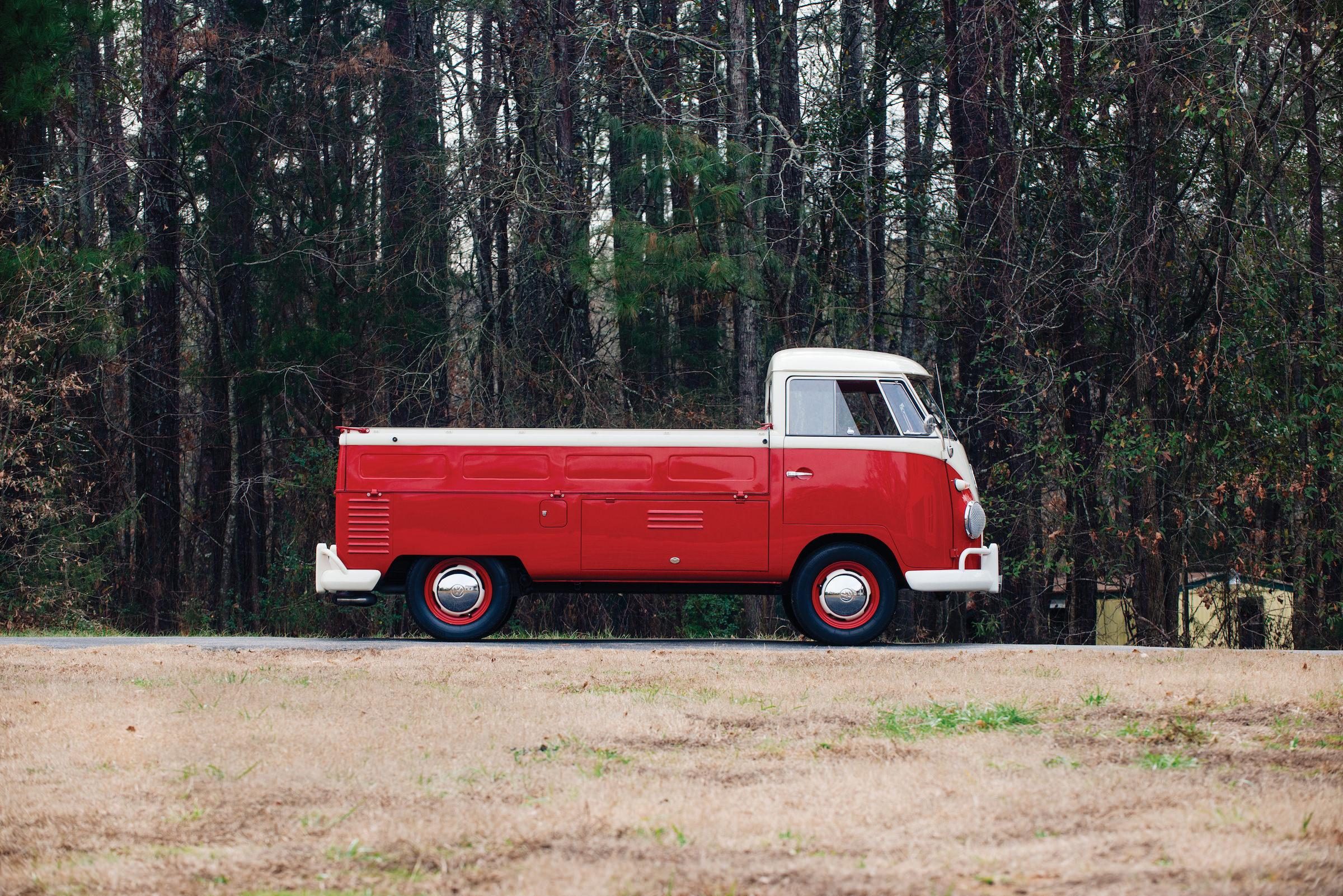 design icon 1961 volkswagen type 2 single cab pickup. Black Bedroom Furniture Sets. Home Design Ideas