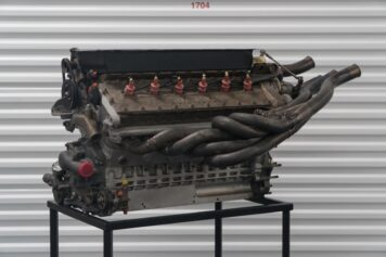 Alfa Romeo V12 Formula 1 Engine