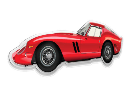 250 GTO Wall Model