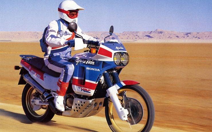 Honda Africa Twin motorcycle
