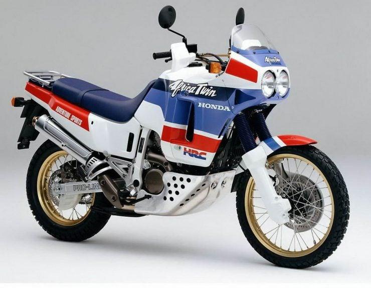 Honda Africa Twin XRV650 motorcycle