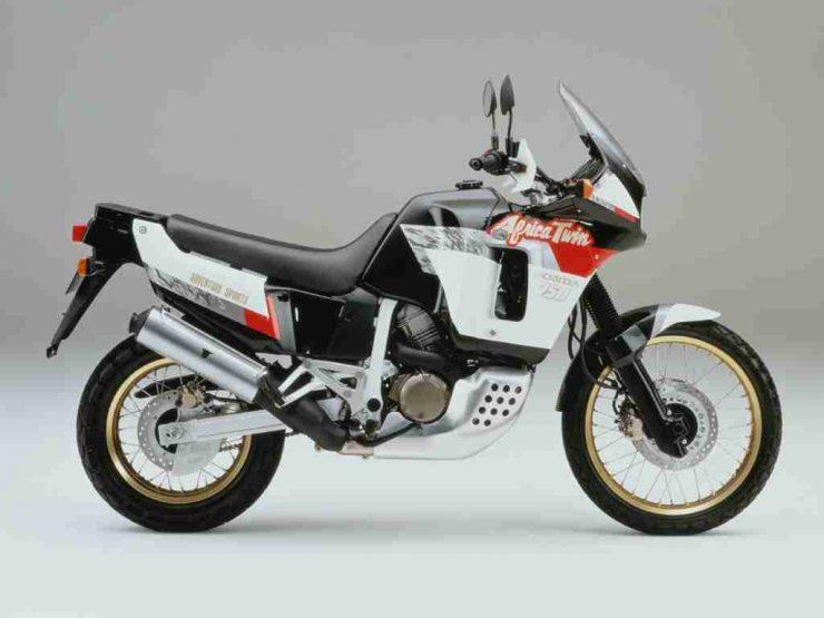 Honda Africa Twin XRV750 motorcycle