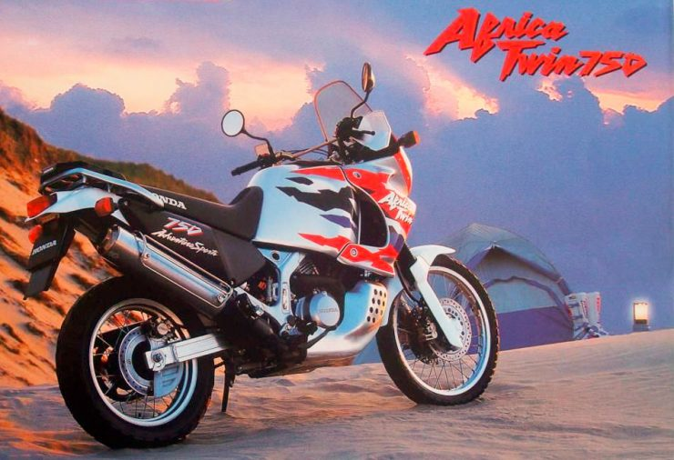 Honda Africa Twin XRV750 RD07A motorcycle