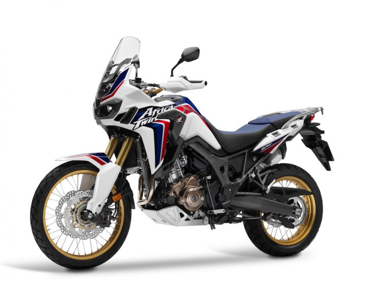 Honda Africa Twin CRF1000L motorcycle