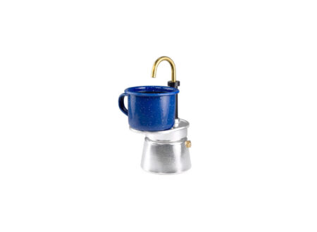 Adventure Camping Mini Espresso Maker by GSI Outdoors With Cup