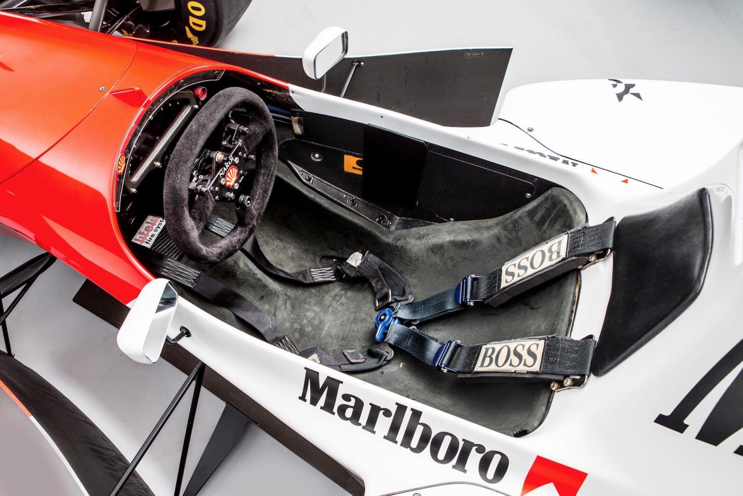 Ayrton Senna\'s Original 1993 McLaren MP4/8 Formula 1 Car