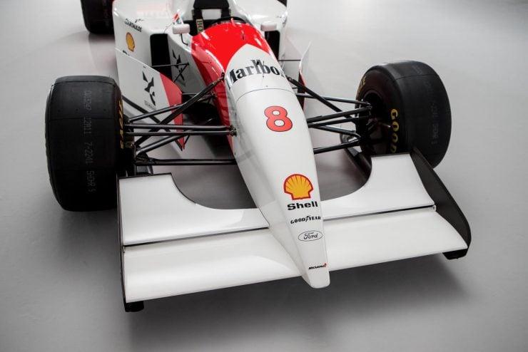 Ayrton Senna's 1993 McLaren MP4/8 Formula 1 Car