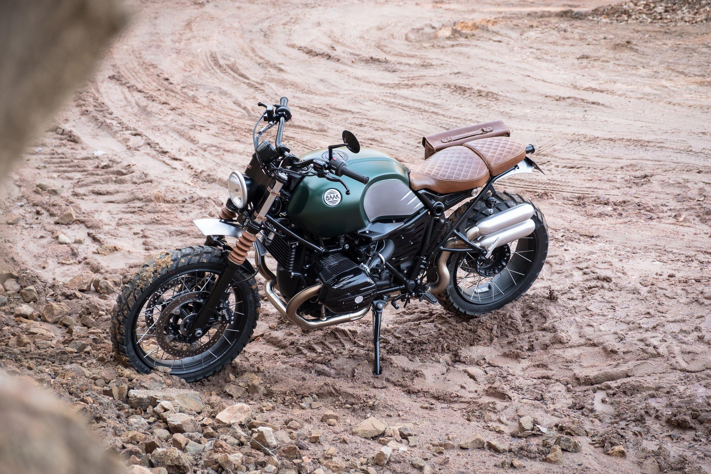 Baak Motocyclettes Bmw R Ninet Scrambler Prototype