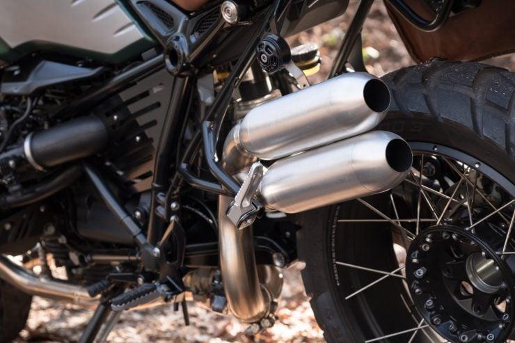 BMW R nineT Scrambler Exhaust