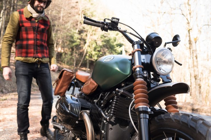 BMW R nineT Scrambler and Rider