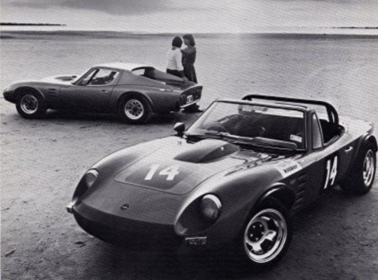 Bolwell Nagari coupe roadster