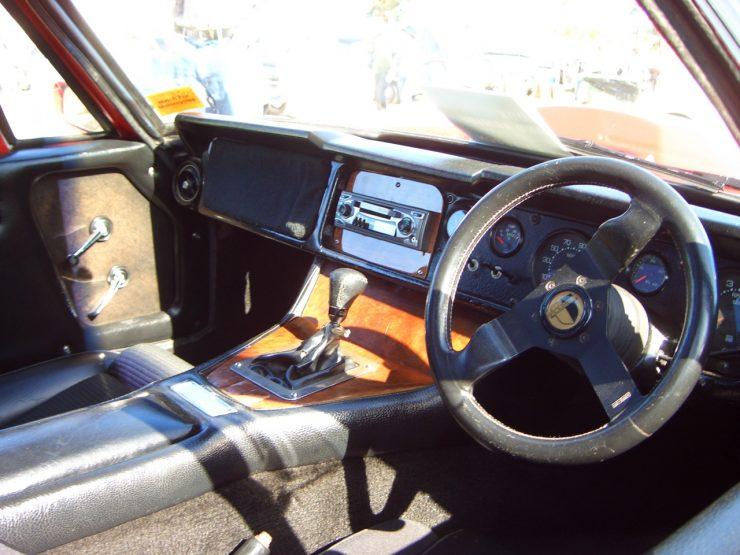 Bolwell Nagari cockpit interior