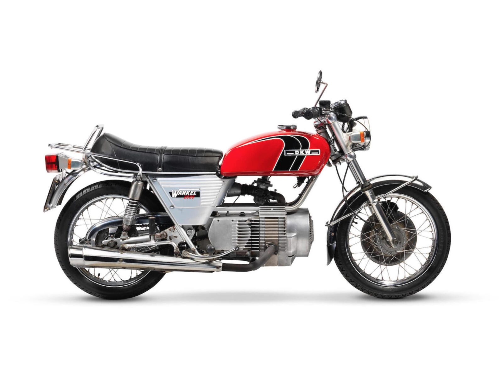 DKW W2000 Rotary - A Wankel Rotary Motorcycle
