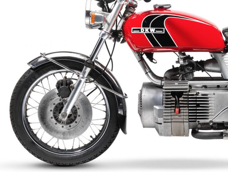 DKW W2000 Hercules W-2000 Rotary - A Wankel Rotary Motorcycle Front
