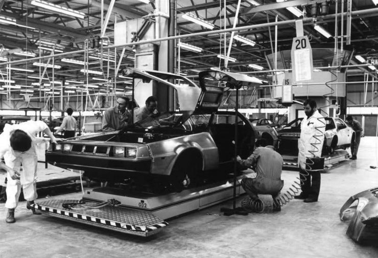 DeLorean DMC-12 Factory