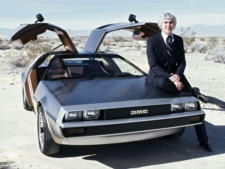 DeLorean DMC-12 John DeLorean
