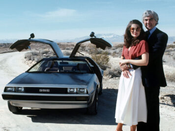 DeLorean DMC-12 John and Wife
