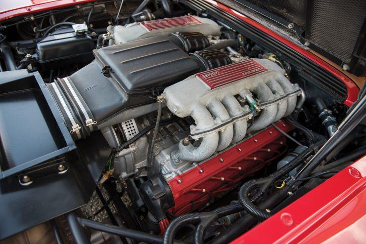 Ferrari Testarossa Engine 2