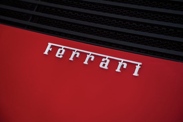 Ferrari Testarossa Ferrari Badge