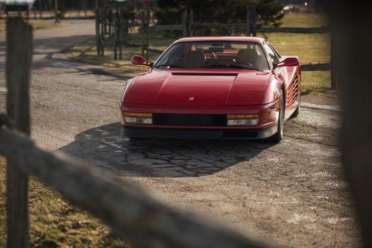 Ferrari Testarossa Front