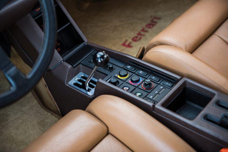 Ferrari Testarossa Seats