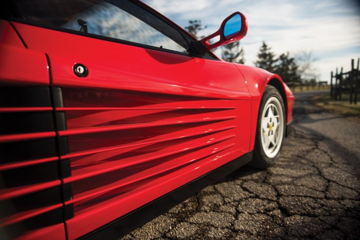 Ferrari Testarossa Side Vents
