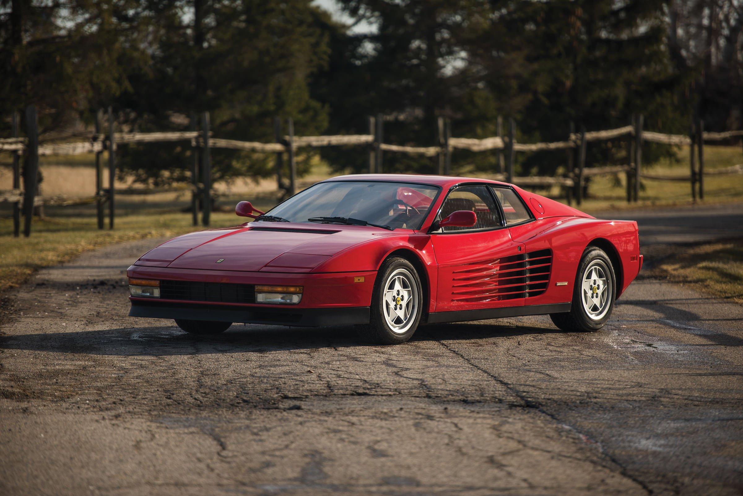 The Ferrari Testarossa Iconic 1980s Supercar Royalty
