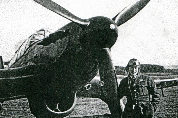 Flight Sergeant Freddie Vinyard