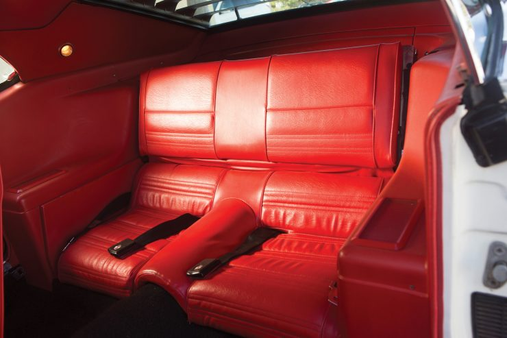 1970 Ford Mustang Boss 302 Back Seats